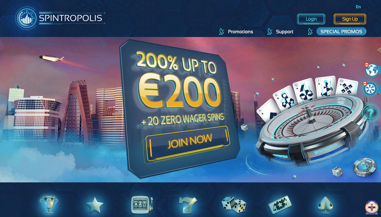 test spintropolis casino